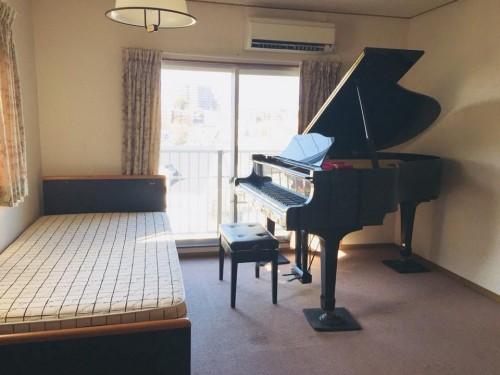 【ピアノ愛好家の皆様に宿泊施設のご案内です】