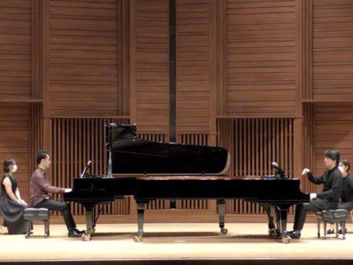 【Orchestra For Two】~176鍵の万華鏡~2台ピアノから降りそそぐ光と影が開催されました