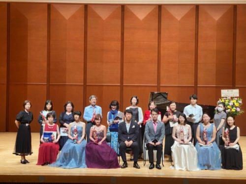 第5回全国大会入賞者記念コンサート及び表彰式が開催されました